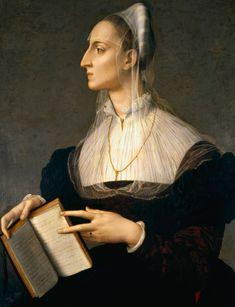 Portrait of Laura Battiferri, Agnolo Bronzino, 1552