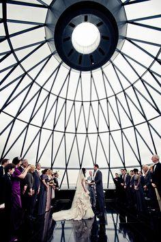 London Wedding Venue:  30 St Mary Axe - The Gherkin  (The City)   Photography by Janis Ratnieks