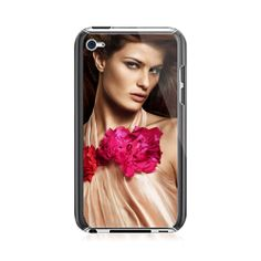 Flower In The  Front iPod Touch 4G Case