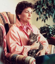 Rita Mae Brown - American author, best known for giving co-author credit to her cat, Sneakie Pie