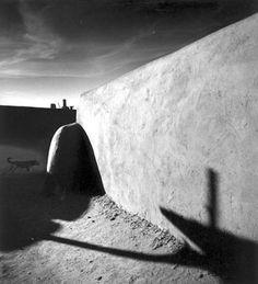 kairosgrzincic: Michael Kenna Running Dog, Taos... - Journal of a Nobody