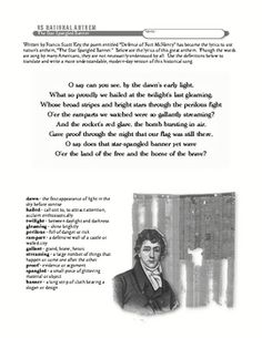 Star Spangled Banner Lesson: Our National Anthem