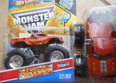 2011 Pillage Idiot #32 Hot Wheels Originals Monster Jam With Flames from D case  #HotWheels #MonsterJam
