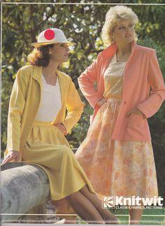 80's Sewing Pattern  Knitwit 3000 Designer by jennylouvintage