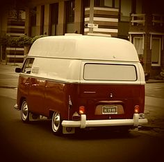VW T2a highroof bus