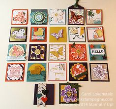 2x2 organized swap at 2014 Convention by Carol Lovenstein