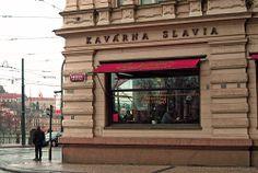 Kavárna Slavia, Prague CZ