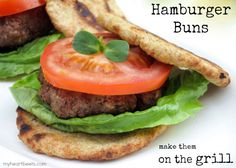 Paleo Hamburger Buns that you can make on the grill! by @myheartbeets on myheartbeets.com #paleo