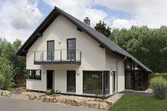 Musterhaus Fertighaus MEDLEY Sonderedition mit Wintergarten und Balkon in Mülheim-Kärlich, nahe Koblenz