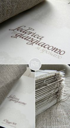 Linen Save the Date