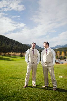 Groomsmen - From a wedding I helped photograph at the Evergreen Lakehouse in Evergreen, Colorado.
