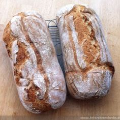 Das beste Bauernbrot I'll tell you one of my favorite recipes for the best farmer's bread today – easy to make. Just a wonderful bread! Sandwich Recipes, Bread Recipes, Baking Recipes, Pan Bread, Bread Baking, German Bread, Bread Rolls, Pampered Chef, Food Blogs