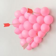 DIY Valentines Day balloon pop in the blog archives! 💘