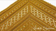 Chrochet, Crochet Shawl, Crochet Top, Crochet Patterns, Knitting, Youtube, Shawls, Women, Historia