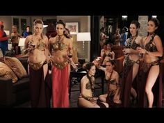 Star Wars Slave Leia PSA (public service announcement) starring Kaley Cuoco. Watch until the end for Nathan Fillion & his PSA.