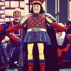 Shrek the musical! #shrek #shrekthemusical #lordfarquaad #farquaad