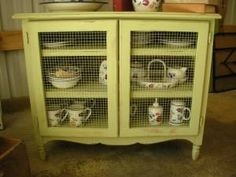repurposed-dresser.. take out drawers and add doors