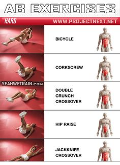 Sixpack Workout HARD Part 1 - Abs Abdominal Crunch Exercise Gym