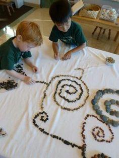 Stones in Preschool