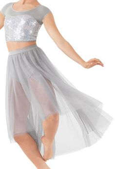 High-Low Tulle Maxi Lyrical Skirt | Balera™