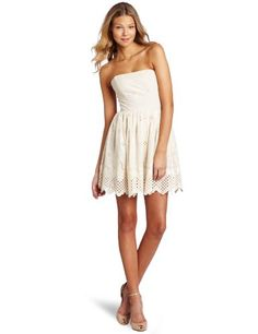 78% Off was $216.00, now is $46.94! Corey Lynn Calter Women`s Sweet Pea Straples Dress + Free Shipping