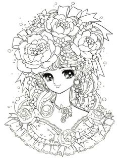 Yume Shoujo  / Coloring Pages Adult