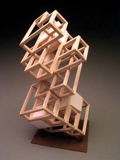 KyoungHwa Oh - Wood Sculpture #4 - Modular Design