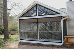 vinyl window coverings for screened in porch | Weather proof your Patio or Porch | Clear Vinyl Plastic Enclosures