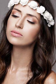 Bridal Makeup Inspiration - nude makeup by LMI students.