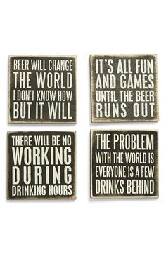Primitives by Kathy Wood Coasters (Set of 4) available at #Nordstrom