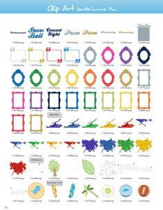 Sparkle Summer-Fun Clipart