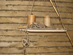 Hanging shelves from Hedeby, based on archeological finds