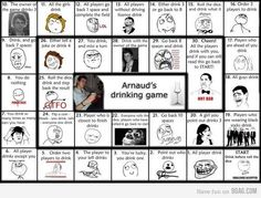 New Years drinking game
