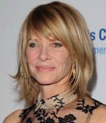 Image result for med long hairstyles for women over 50