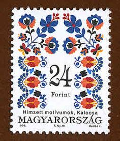 gorgeous Hungarian stamp