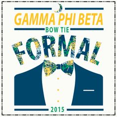 Geneologie | Greek Tee Shirts | Greek Tanks | Custom Apparel Design | Custom Greek Apparel | Sorority Tee Shirts | Sorority Tanks | Sorority Shirt Designs  | Sorority Shirt Ideas | Greek Life | Hand Drawn | Sorority | Sisterhood | Bow Tie | Formal | Date Function | Gamma Phi Beta | GPB | Tux