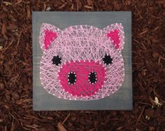 farm animal string art – Etsy
