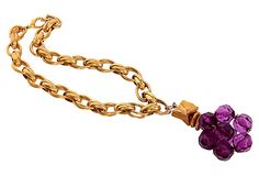 Erwin Pearl Cluster Pendant Necklace on OneKingsLane.com