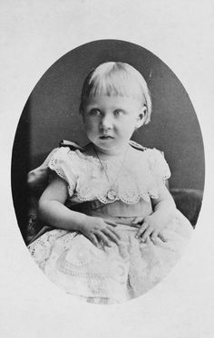 Princess Marie Louise of Schleswig-Holstein, 1874 [in Portraits of Royal Children Vol.18 1873-74] | Royal Collection Trust