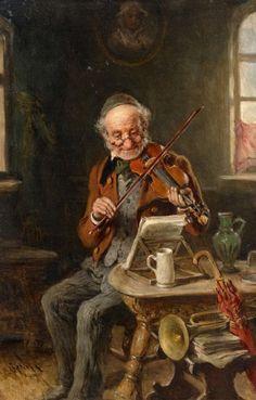 Hermann Kern - The Old Violinist