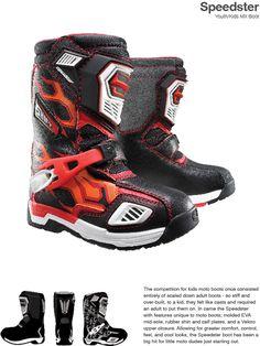 Speedster Youth/Kids MX Boot by Chris Davis at Coroflot.com