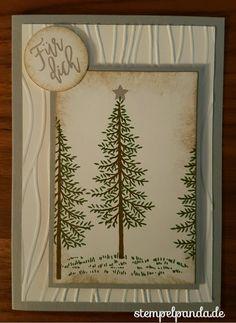 Stampin up, SU, Stempelpanda, Wald der Worte, Thoughtful branches