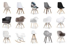 Sélection de chaises scandinaves pas chères chez SuperStudio Scandinavian Interior, Home Staging, Kids Office, Salon Design, Petit Prix, Chair Upholstery, Cool Chairs, Dining Room, Furniture Design