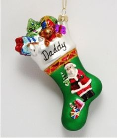Santa - Personalized Family Christmas Ornament