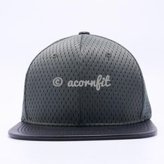 69565a9b994 Jersey Mesh Leather Snapback Hats Wholesale  Olive Black