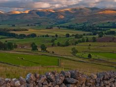 The Howgills are a small range of mountains bounded by Tebay, Kirkby Stephen and Sedbergh, partly in the Yorkshire Dales National Park (despite still being in Cumbria).