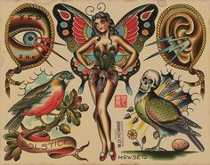 Matt Howse Tattoo Flash | KYSA #ink #design #tattoo