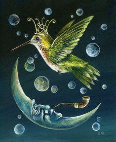 Janie Olsen   ACRYLIC   Tiny Bubbles