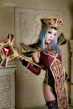 Sally Whitemane from World of Warcraft cosplayed by Miyoaldy. Photographed by Amu and Dukkeobi.