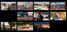 Clément Griselain presents a collection of Concept art, key light color concept made for Sing by Illumination. Prison, Sing Movie, Color Script, Visual Development, Universal Pictures, Storyboard, Light Colors, Storytelling, Concept Art
